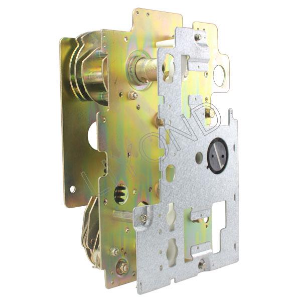 K-type-motor-inlet-outlet-operation-mechanism