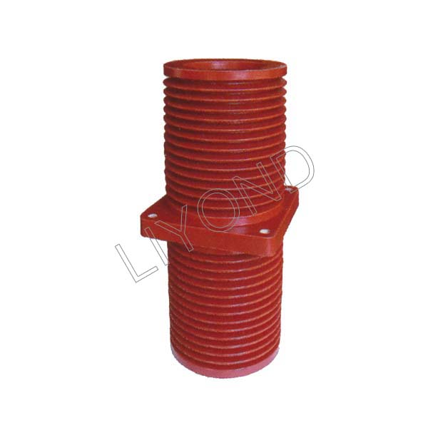 40.5KV-LYC218-epoxy-resin-electrical-wall-bushing