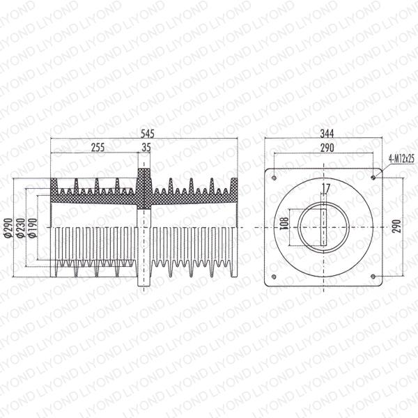 Busbar-bushing-LYC221-epoxy-resin-for-VCB-1