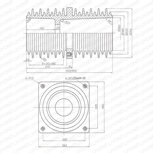 Inside-bushing-LYC216-insulating-ABB-switchgear-1