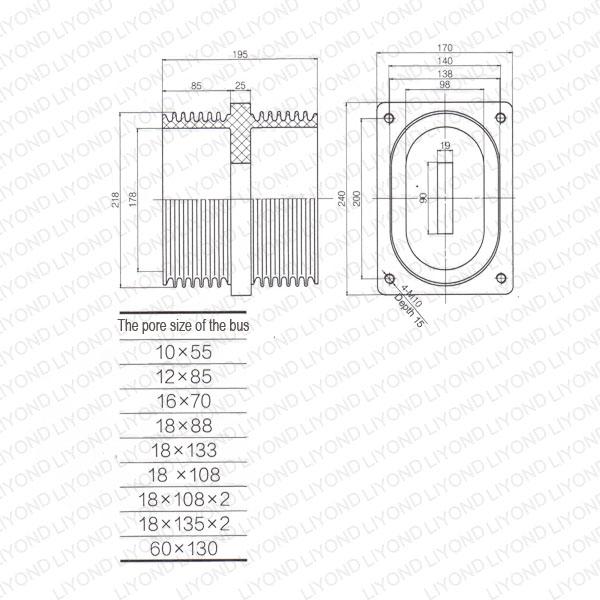 Insulator-bushing-LYC189-AGP-Casting-Way-1