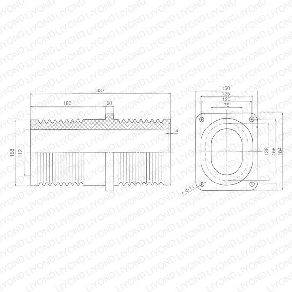 Isolating-switch-through-walls-LYC191-bushing-1