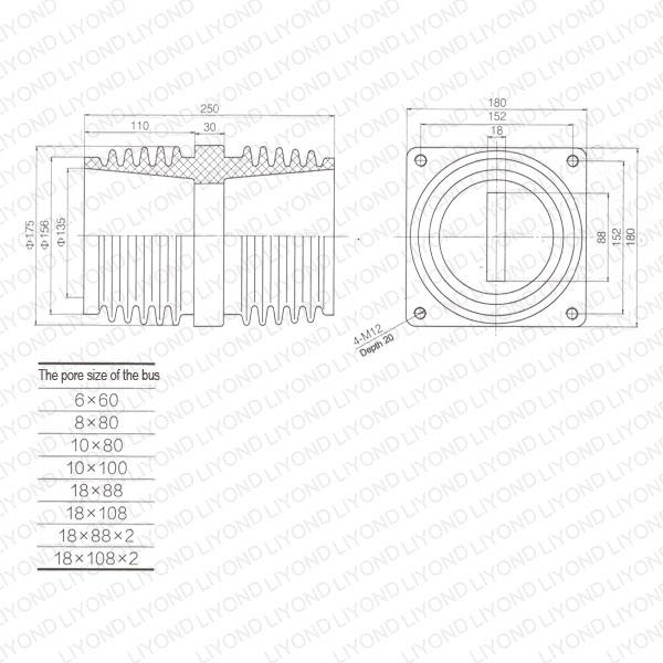 Penetration-sleeve-LYC184-epoxy-resin-for-VCB-1