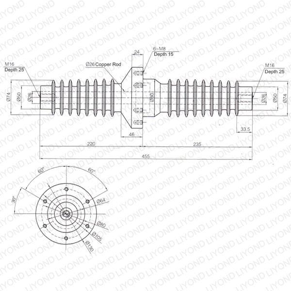 Station-bushing-LYC207-630A-Korea-insulator-1
