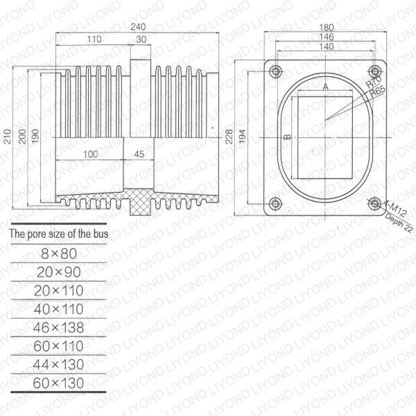 Switch-cubicle-LYC197-epoxy-resin-bushing-1