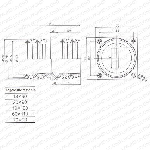 Transformer-bushing-LYC198-epoxy-annular-tubes-1