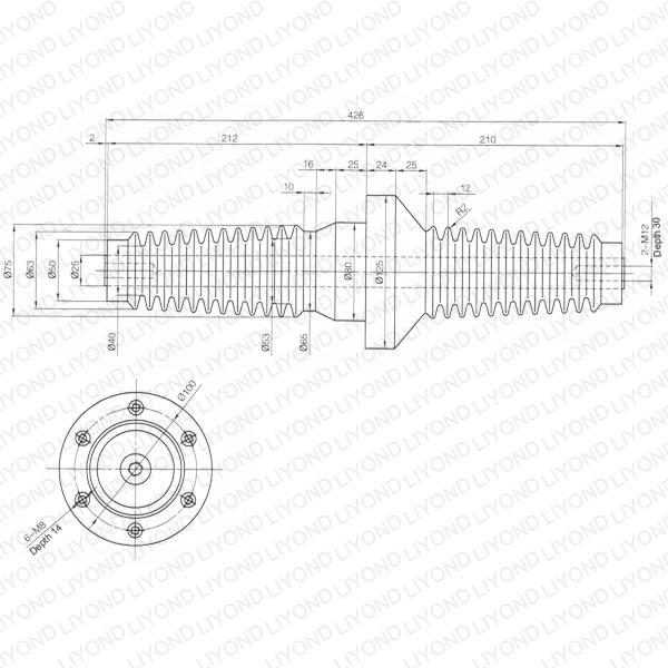 Wall-bushing-insulator-LYC206-switchgear-sheet-1