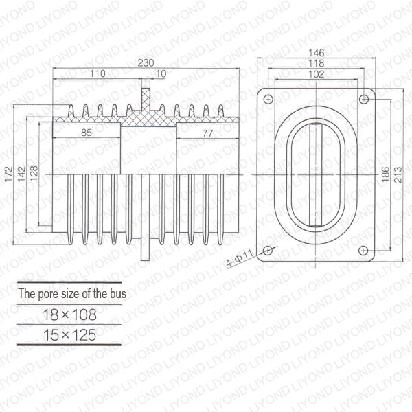 Wall-through-sleeve-LYC193-high-voltage-1